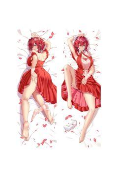 Virtual Youtuber Houshou Marine Anime Dakimakura Body Pillow Cover 21336