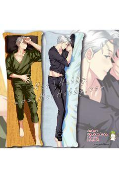 Yuri!!! On Ice Victor Nikiforov 2 Anime Dakimakura Japanese Hugging Body Pillow Cover
