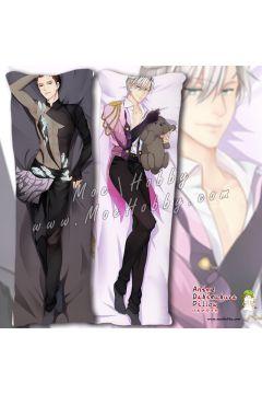 Yuri!!! On Ice Victor Nikiforov Katsuki Yuri 6 Anime Dakimakura Japanese Hugging Body Pillow Cover
