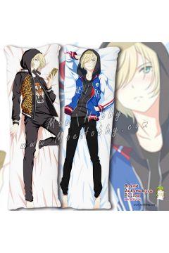 Yuri!!! On Ice Yuri Plisetsky 1 Anime Dakimakura Japanese Hugging Body Pillow Cover