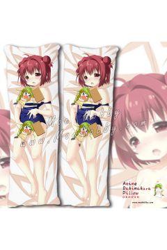 Yuruyuri Akaza Akari Anime Dakimakura Japanese Hugging Body Pillow Cover Case 02