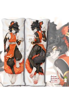 Ark Knights Akun Anime Dakimakura Japanese Hugging Body Pillow Cover