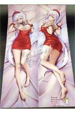 Azur Lane Fanart Belfast Anime Dakimakura Japanese Hugging Body Pillow Cover