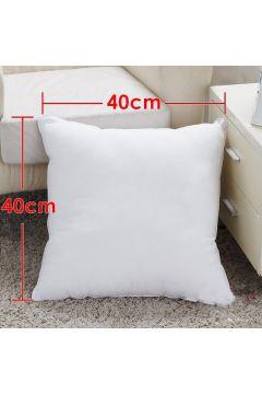 New Comfortable Square Plain White Dakimakura Inner Pillow 40 x 40cm